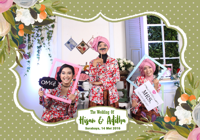 From The Wedding of Hisan & Aditha by Woodenbox Photocorner - 005