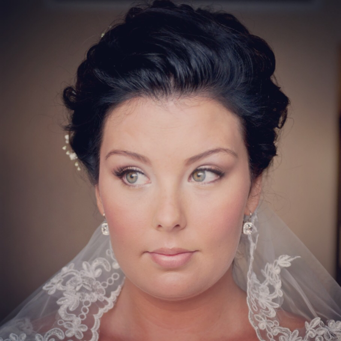 Bridal makeup  by Mobile Makeovers - 003