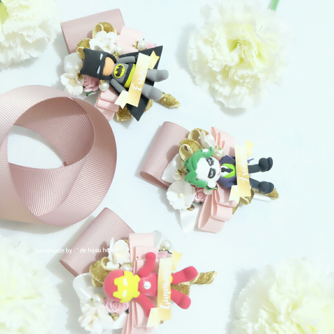 Blush Colour For Corsage And Wristband by de hijau hejo - 010