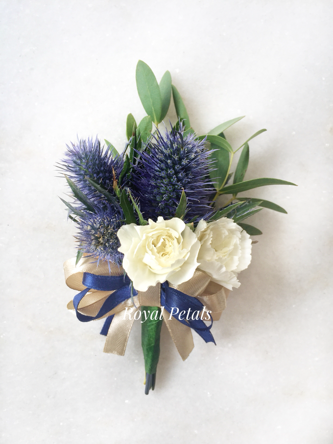 The royal rustic blue by Royal Petals - 005