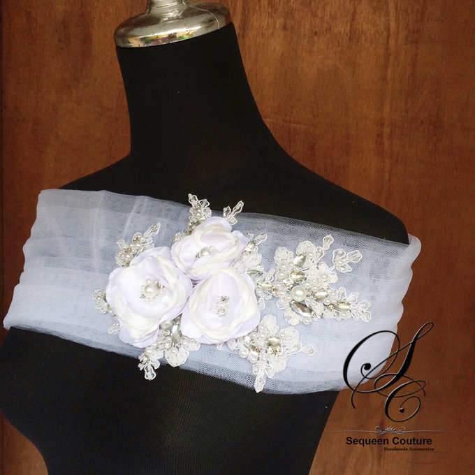 Wedding Dress Accessories by Sequeen Couture - 001