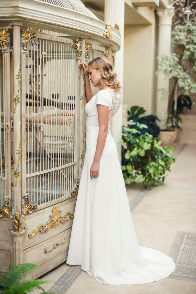 """My Little Bird"" Wedding Dresses Collection  by APILAT - 007"