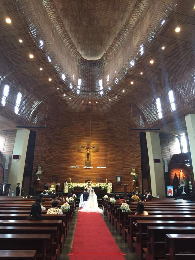 Edwin Steffi Wedding Day by Serenity wedding organizer - 003