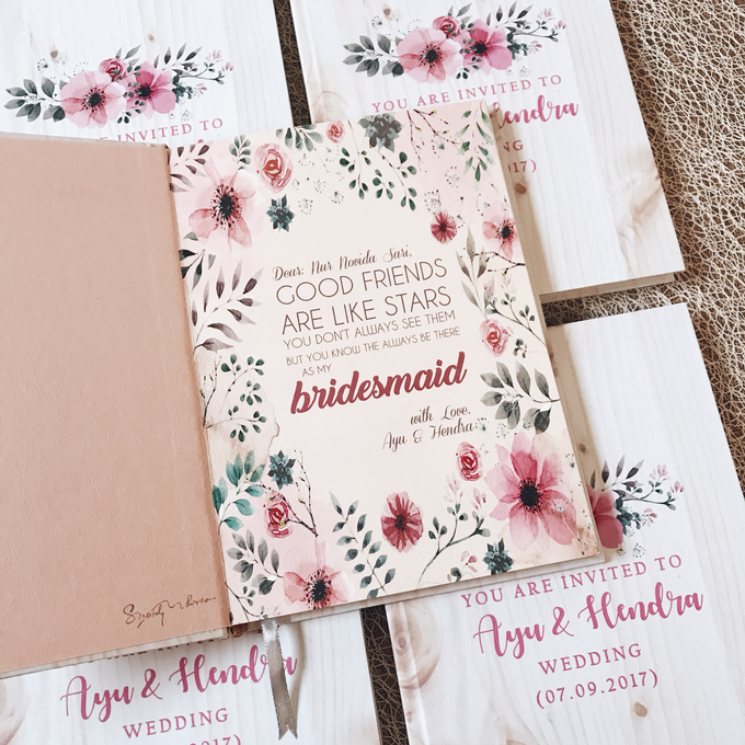 Bridesmaid And Groomsmen Invitation By Molusca Project Bridestory Com