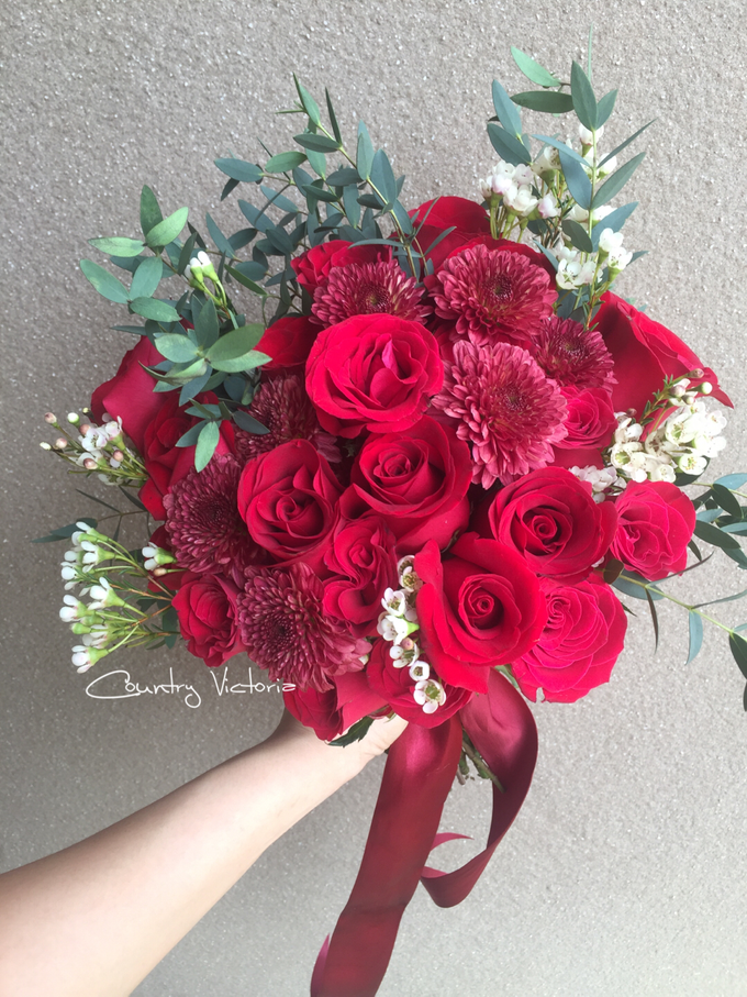 Bridal Bouquets by Country Victoria - 004