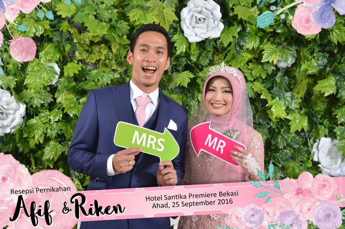 Afif & Riken Wedding by Booth of Moments - 004