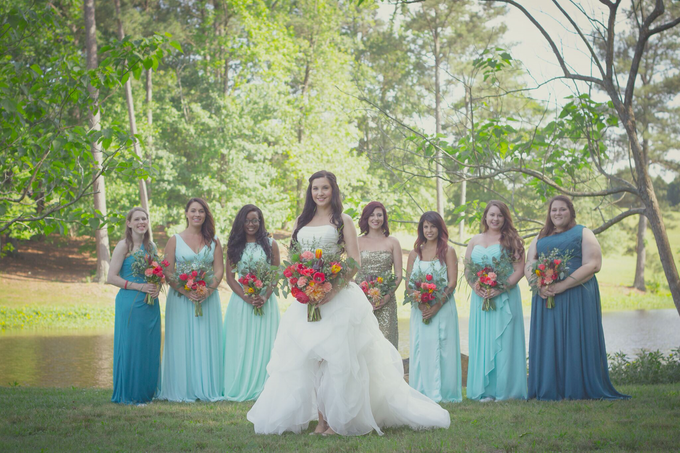Southern summer wedding  by L&A Event Designs - 001