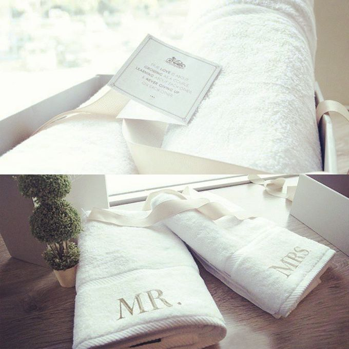 Personalized Mr. & Mrs. Towel by Palmerhaus - 001