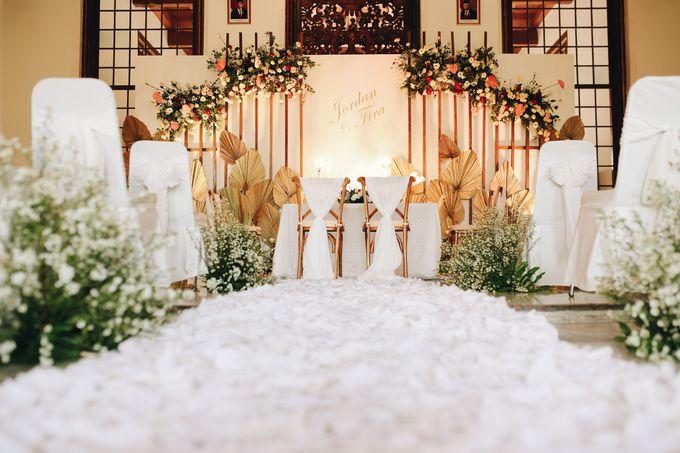 The Wedding of Fira & Jordan by Elior Design - 002