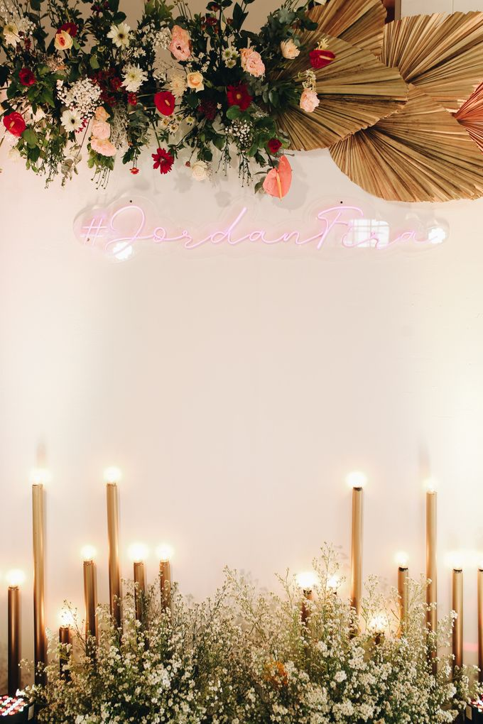 The Wedding of Fira & Jordan by Elior Design - 003