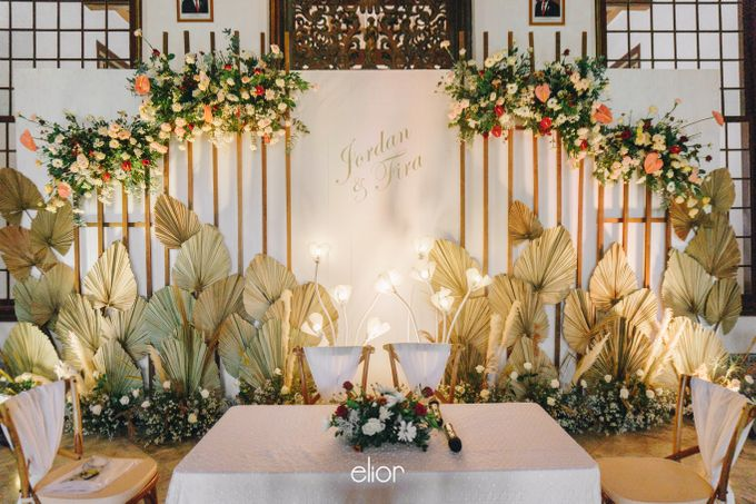 The Wedding of Fira & Jordan by Elior Design - 008