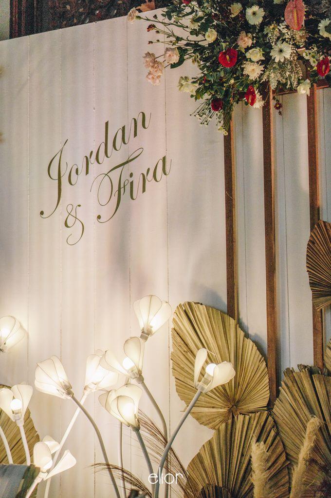 The Wedding of Fira & Jordan by Elior Design - 009