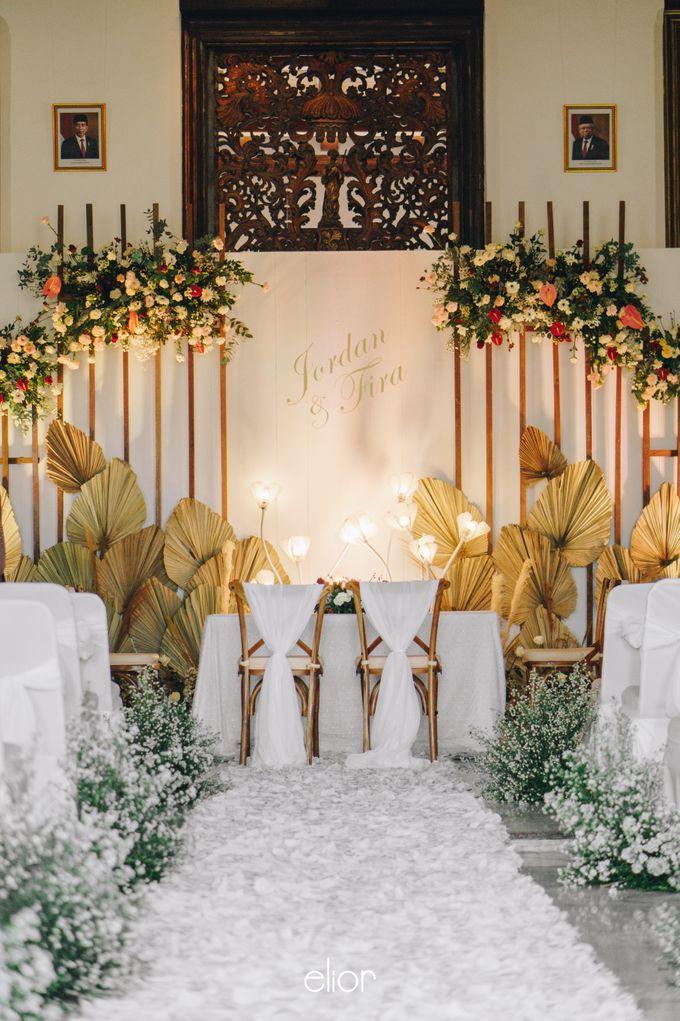 The Wedding of Fira & Jordan by Elior Design - 013