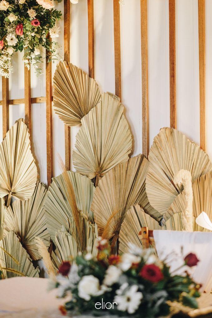 The Wedding of Fira & Jordan by Elior Design - 015