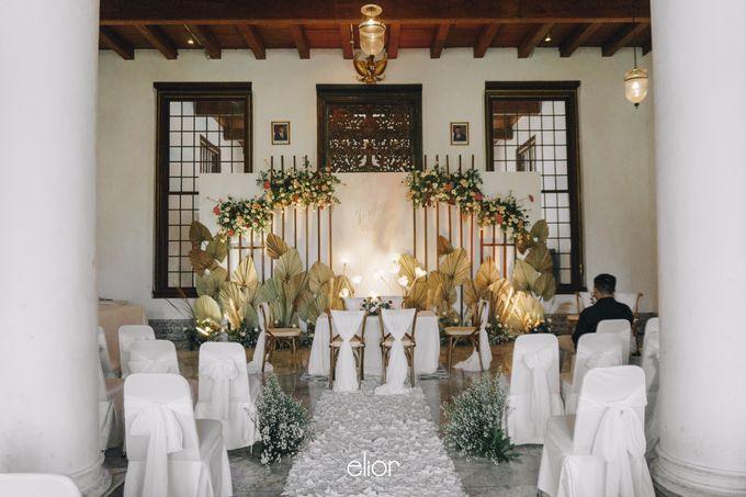 The Wedding of Fira & Jordan by Elior Design - 006