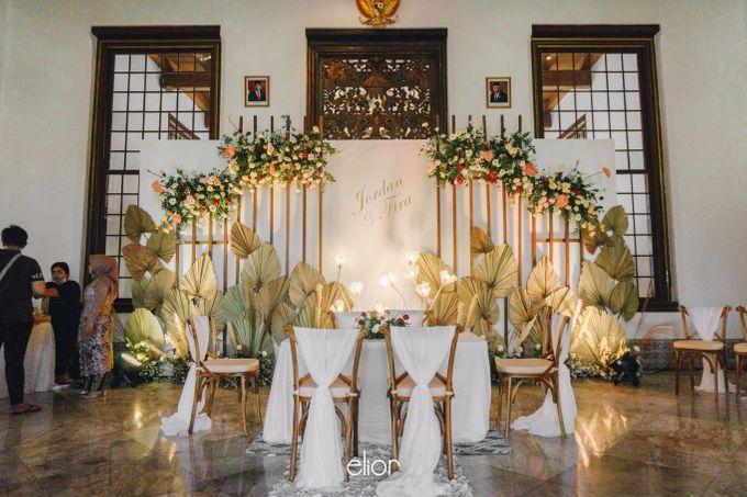 The Wedding of Fira & Jordan by Elior Design - 007