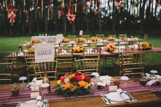 MT & Bel Wedding by fire, wood & earth - 017