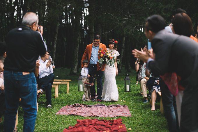 MT & Bel Wedding by fire, wood & earth - 024
