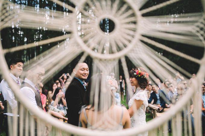 MT & Bel Wedding by fire, wood & earth - 025