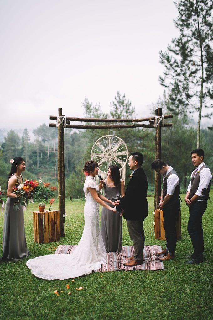 MT & Bel Wedding by fire, wood & earth - 026