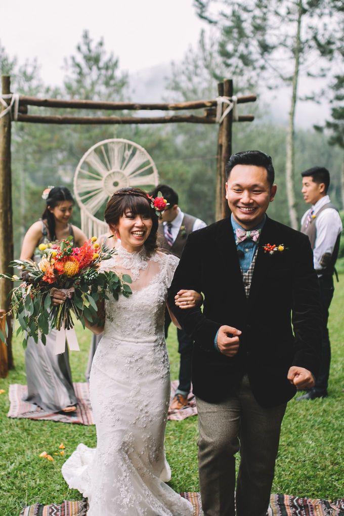 MT & Bel Wedding by fire, wood & earth - 028