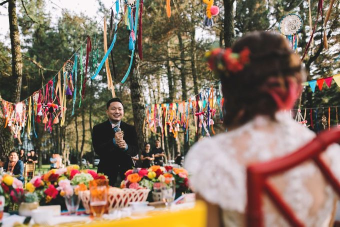 MT & Bel Wedding by fire, wood & earth - 030