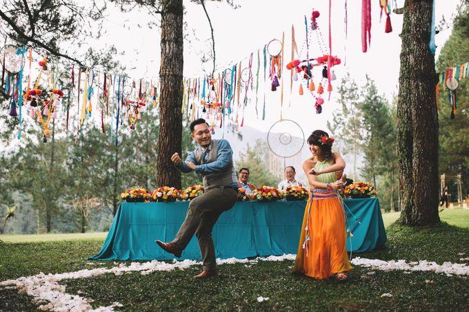 MT & Bel Wedding by fire, wood & earth - 033