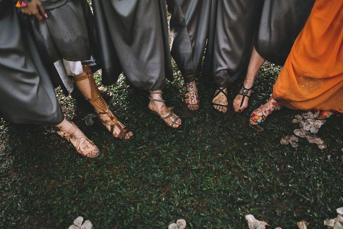 MT & Bel Wedding by fire, wood & earth - 037