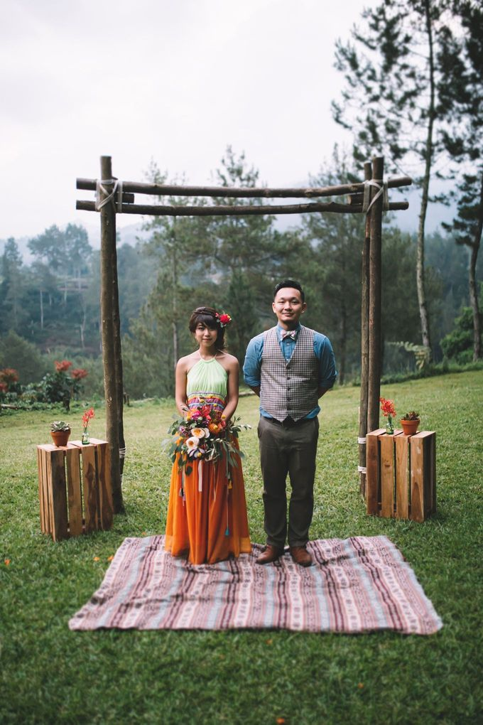 MT & Bel Wedding by fire, wood & earth - 038