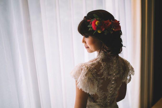 MT & Bel Wedding by fire, wood & earth - 005