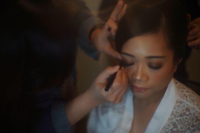 Sabar & Tiara Wedding Day by Nike Makeup & Hairdo - 006
