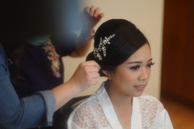 Sabar & Tiara Wedding Day by Nike Makeup & Hairdo - 001