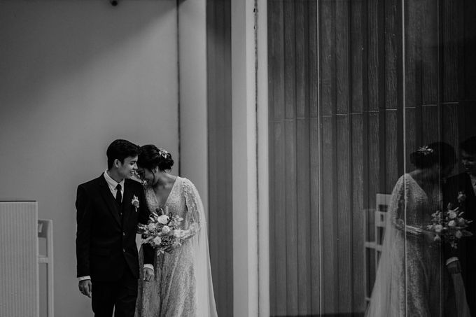 Fita & Gentha Wedding at On Green Raffles Hills by AKSA Creative - 033