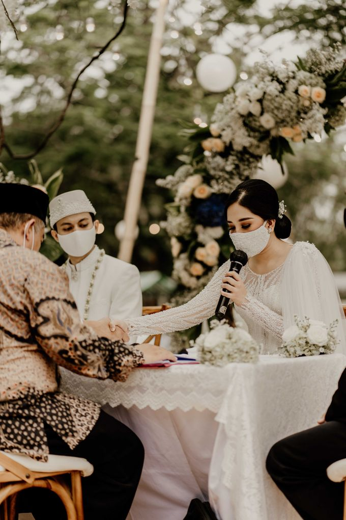 Fita & Gentha Wedding at On Green Raffles Hills by AKSA Creative - 007