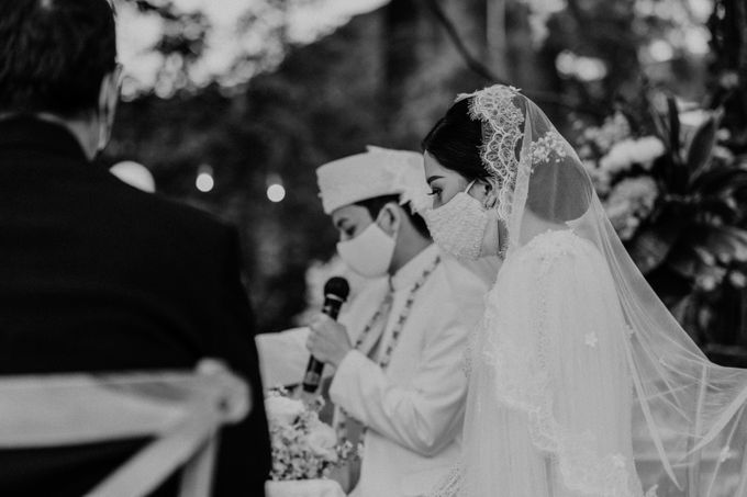 Fita & Gentha Wedding at On Green Raffles Hills by AKSA Creative - 010