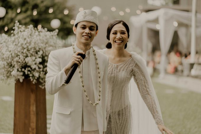 Fita & Gentha Wedding at On Green Raffles Hills by AKSA Creative - 017