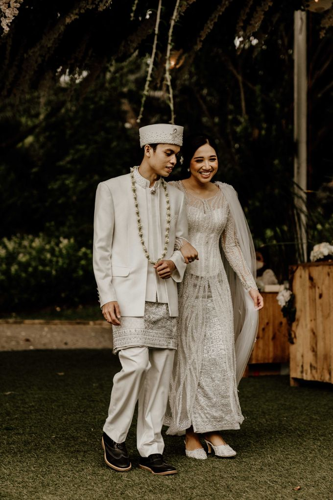 Fita & Gentha Wedding at On Green Raffles Hills by AKSA Creative - 019