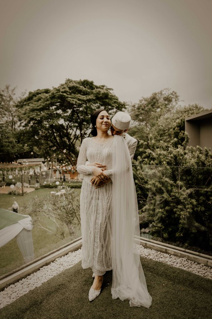 Fita & Gentha Wedding at On Green Raffles Hills by AKSA Creative - 025