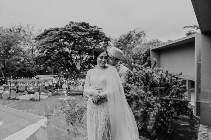 Fita & Gentha Wedding at On Green Raffles Hills by AKSA Creative - 028