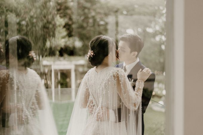Fita & Gentha Wedding at On Green Raffles Hills by AKSA Creative - 035