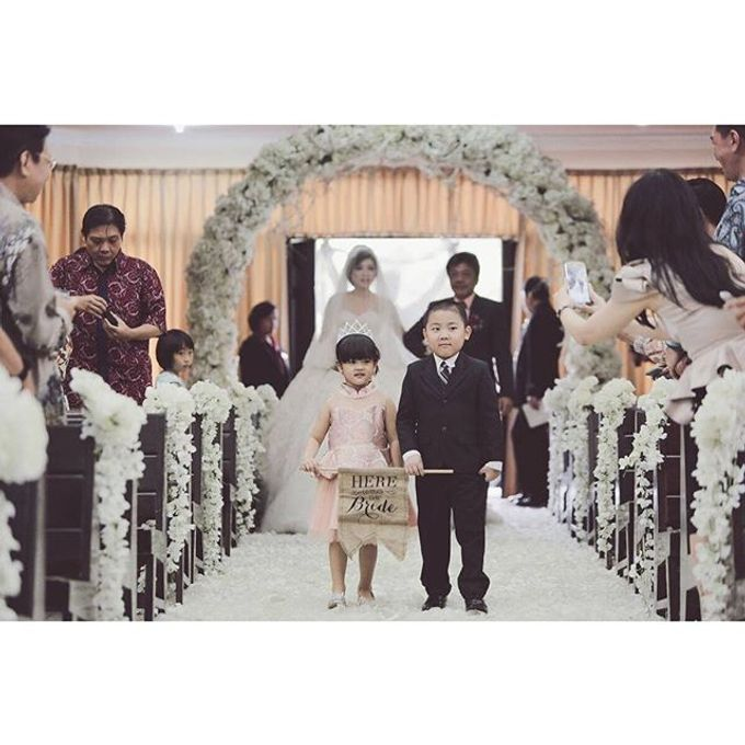 The Wedding of Galan & Widya by All Occasions Wedding Planner - 017