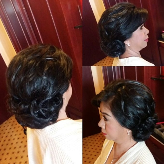 Hairdo Mom Bride by Makeup And Hairdo By iis - 028