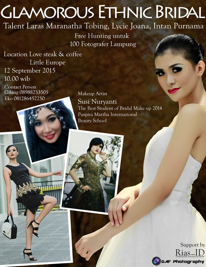 Bridal Make Up & Free Hunting Photographer by Rias ID - 001