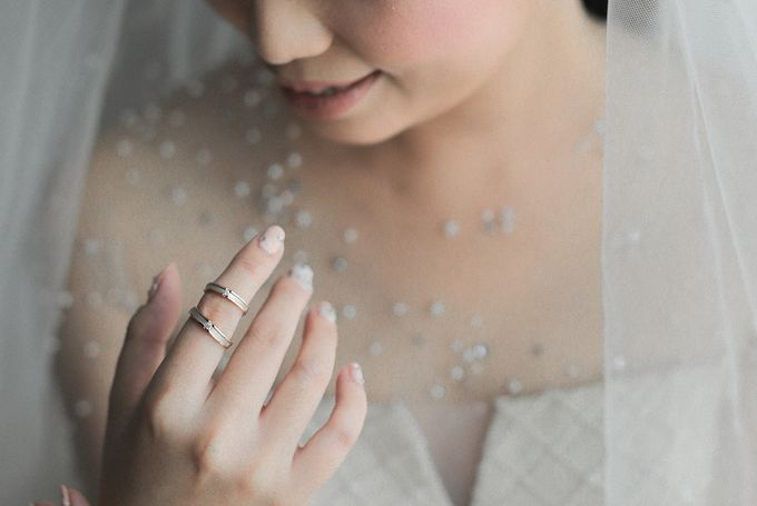Alitroy And Stefani Wedding Day by Tinara Brides - 006