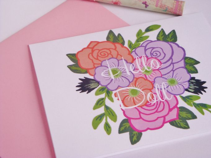 wedding note cards by Fancy Paperie - 003