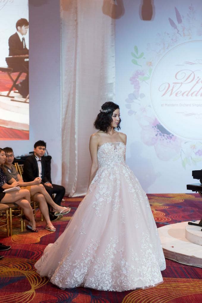 Bridal Gown Fashion Show At Mandarin Orchard Singapore by La Belle Couture Weddings Pte Ltd - 014