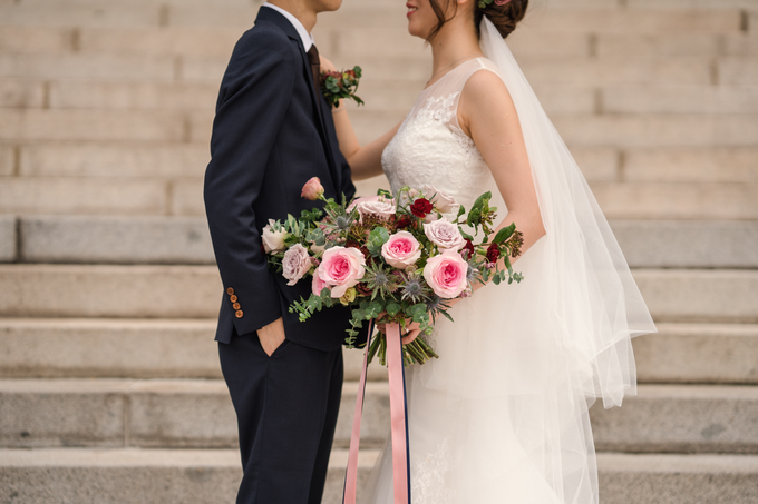 Bridal Bouquet for Bride D by Florals Actually - 002