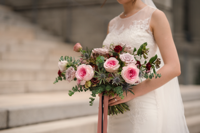 Bridal Bouquet for Bride D by Florals Actually - 004