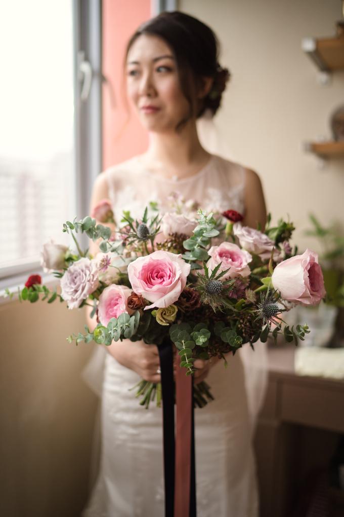 Bridal Bouquet for Bride D by Florals Actually - 005