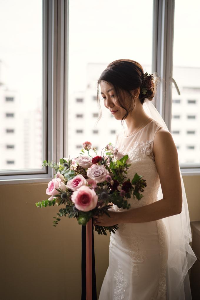 Bridal Bouquet for Bride D by Florals Actually - 006